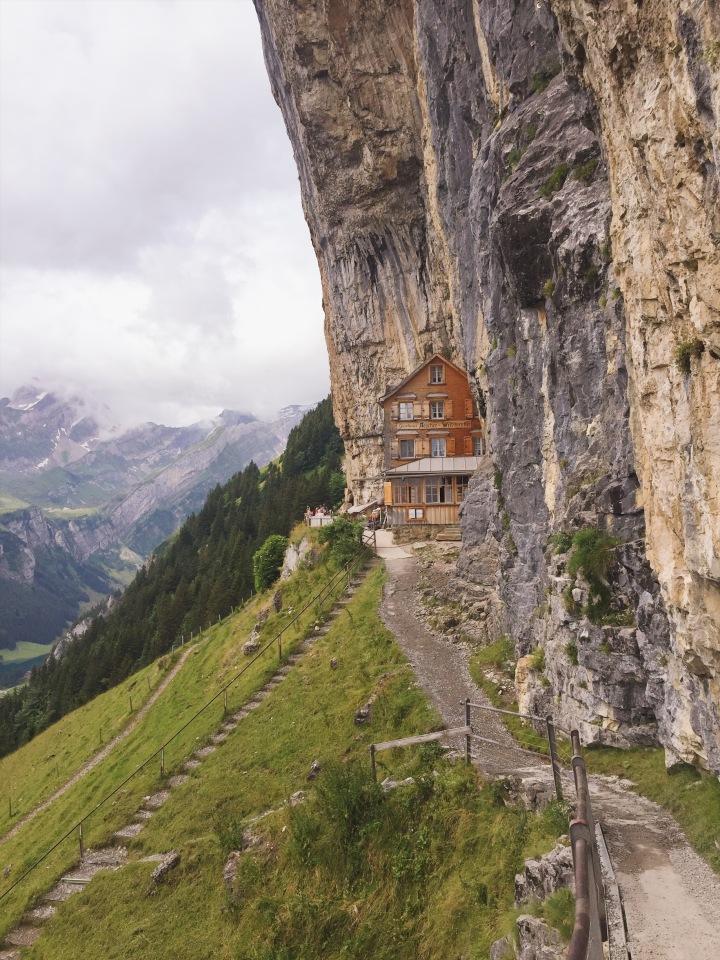 Aescher Cliff Hotel + Restaurant – Wasserauen,Switzerland
